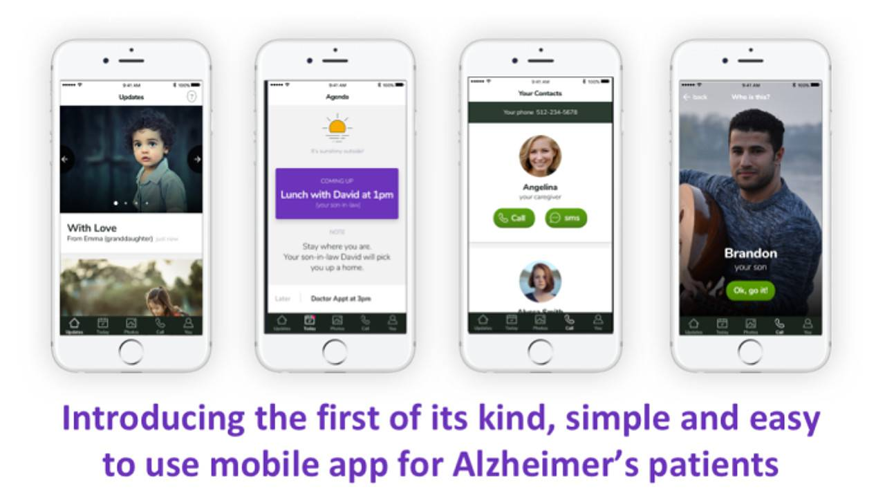 Timeless app by 14-year-old helps Alzheimer's patients identify faces