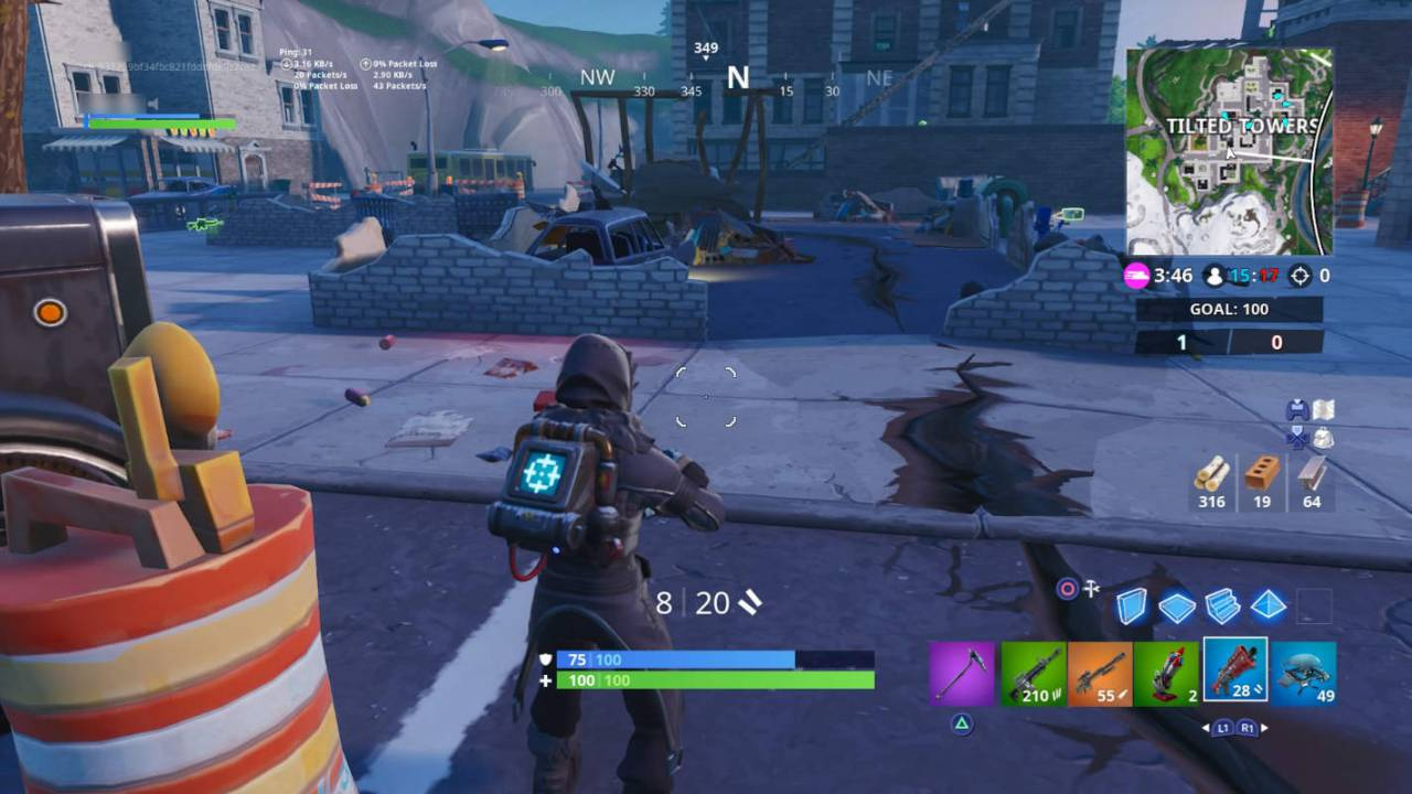 Fortnite earthquake destroys Tilted Towers' most ill-fated