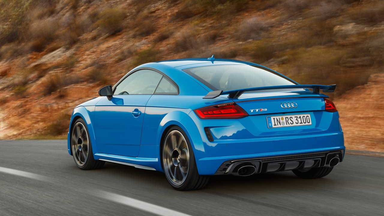 Audi Tt Rs >> Audi Tt Rs Coupe And Roadster Pack 400 Horsepower Five