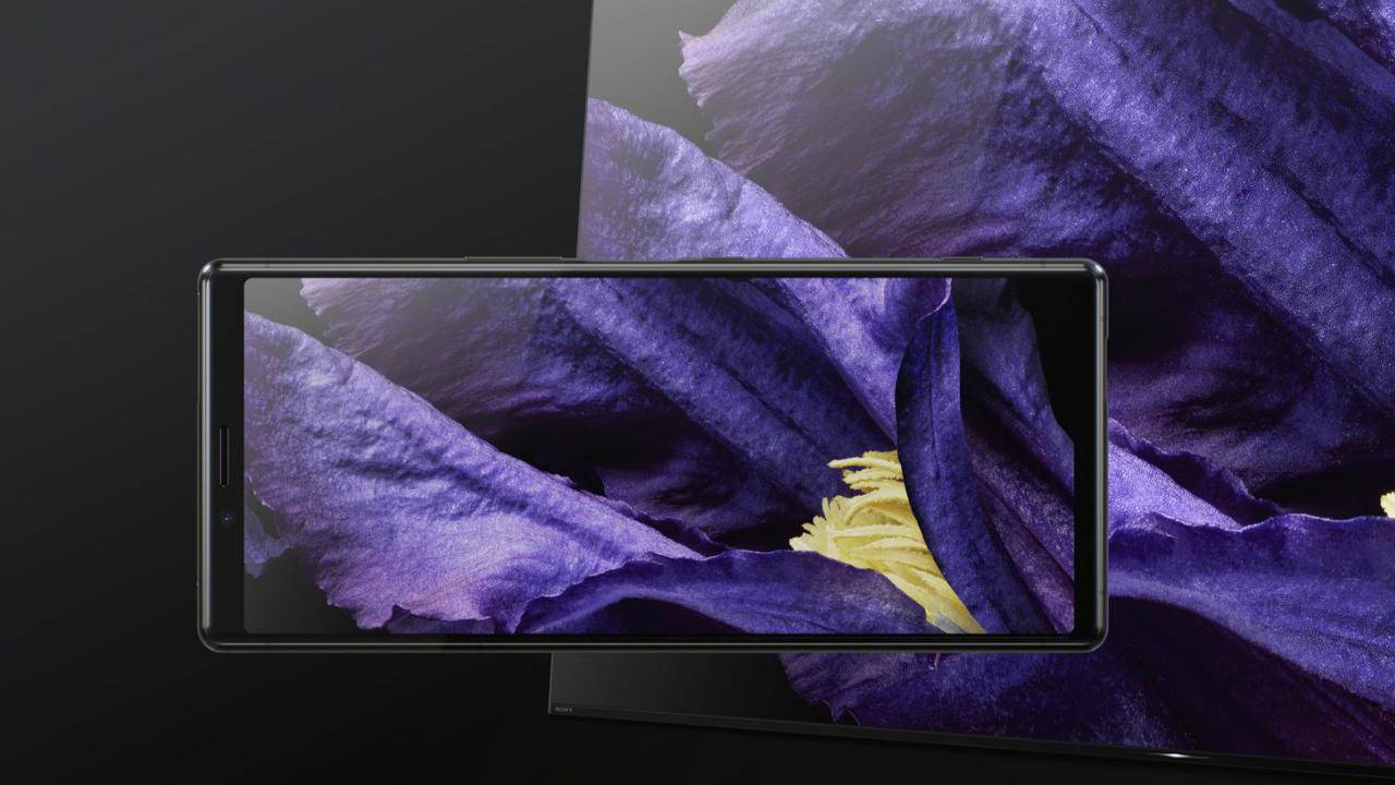 Sony Xperia 1 screen will be in 4K almost all the time