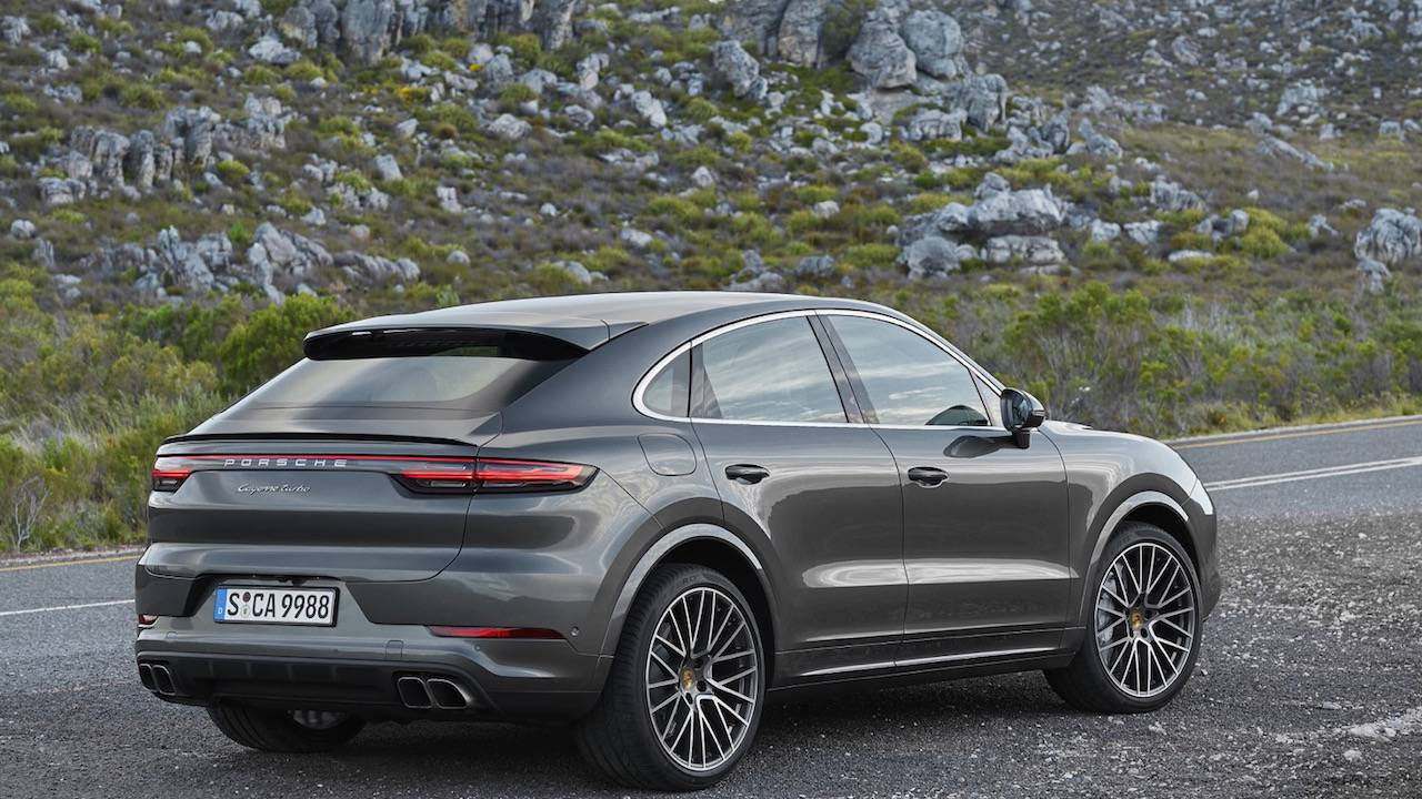 2020 Porsche Cayenne Coupe gets rakish sports redesign