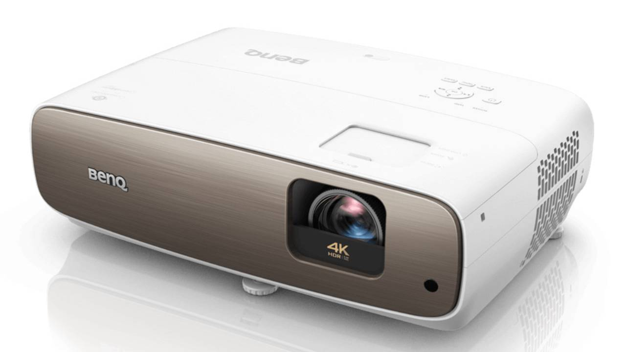 BenQ CinePrime HT3550 short-throw DLP projector packs 4K and HDR