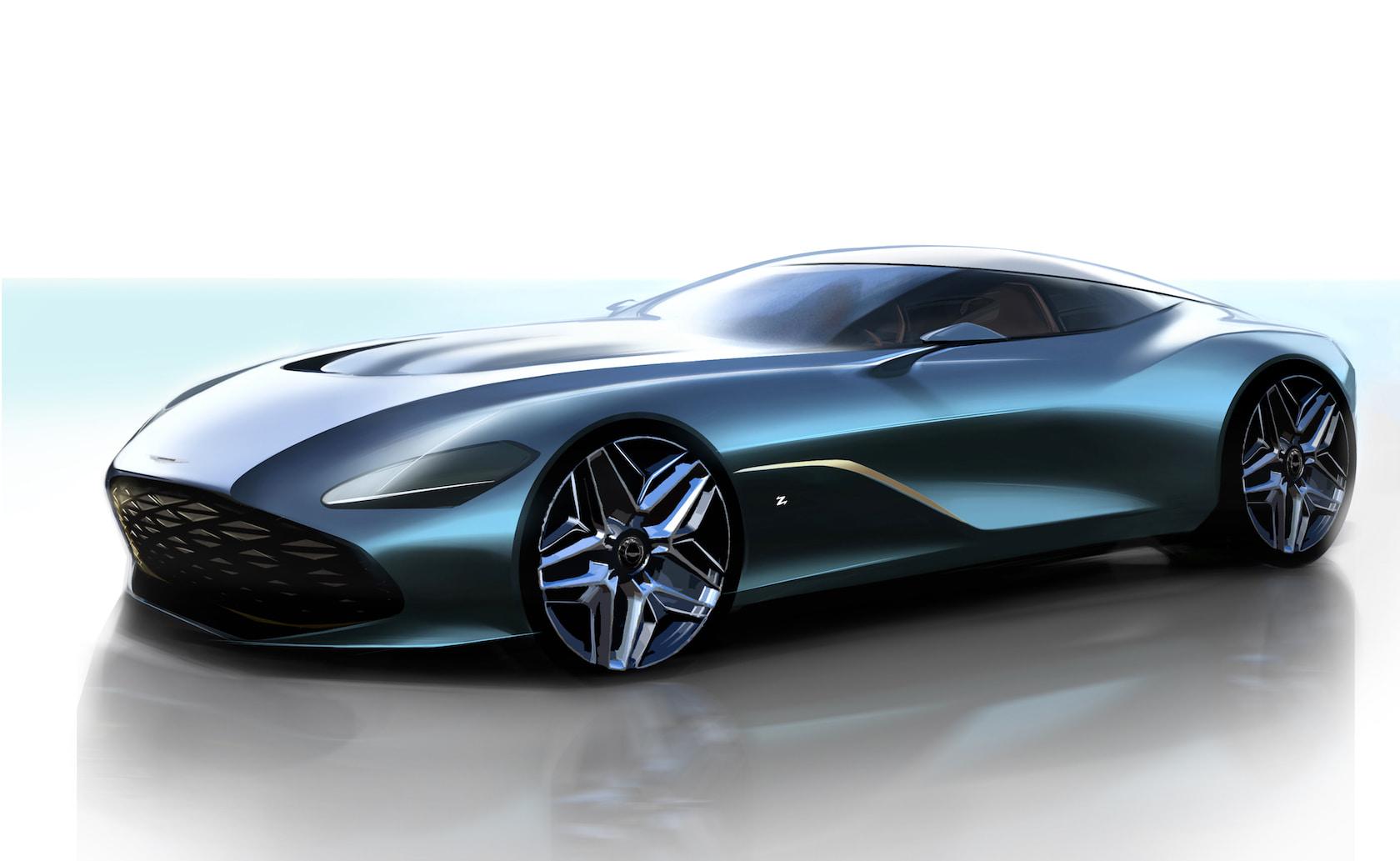 Aston Martin Dbs Gt Zagato Is The Very Best Sort Of Compromise Slashgear