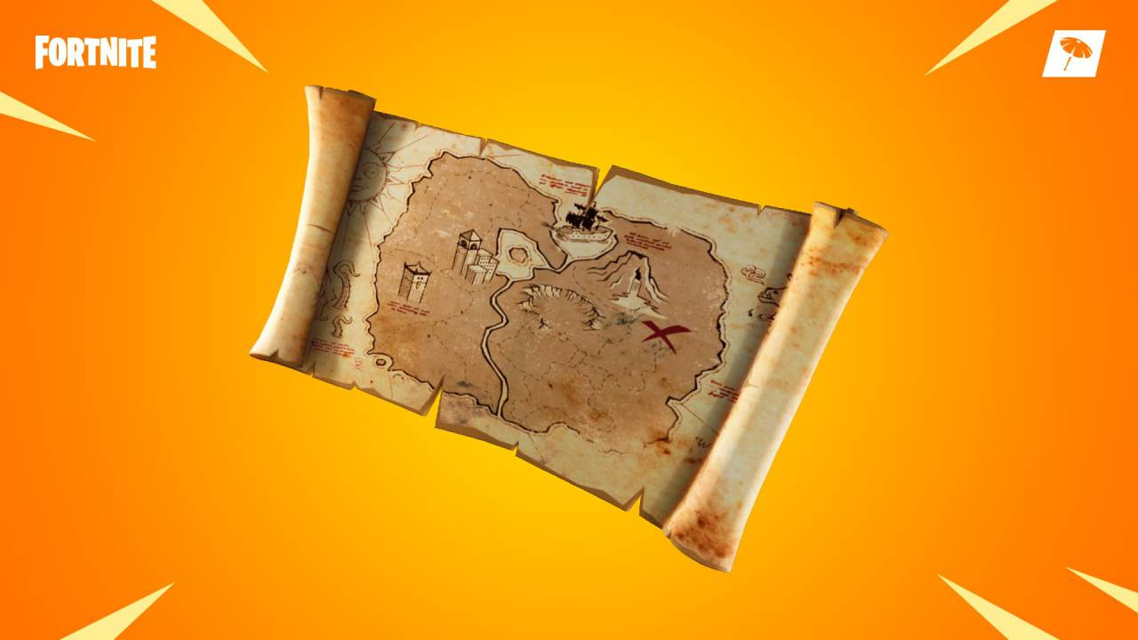 Fortnite patch notes v8 01: Buried Treasure leads to legendary loot