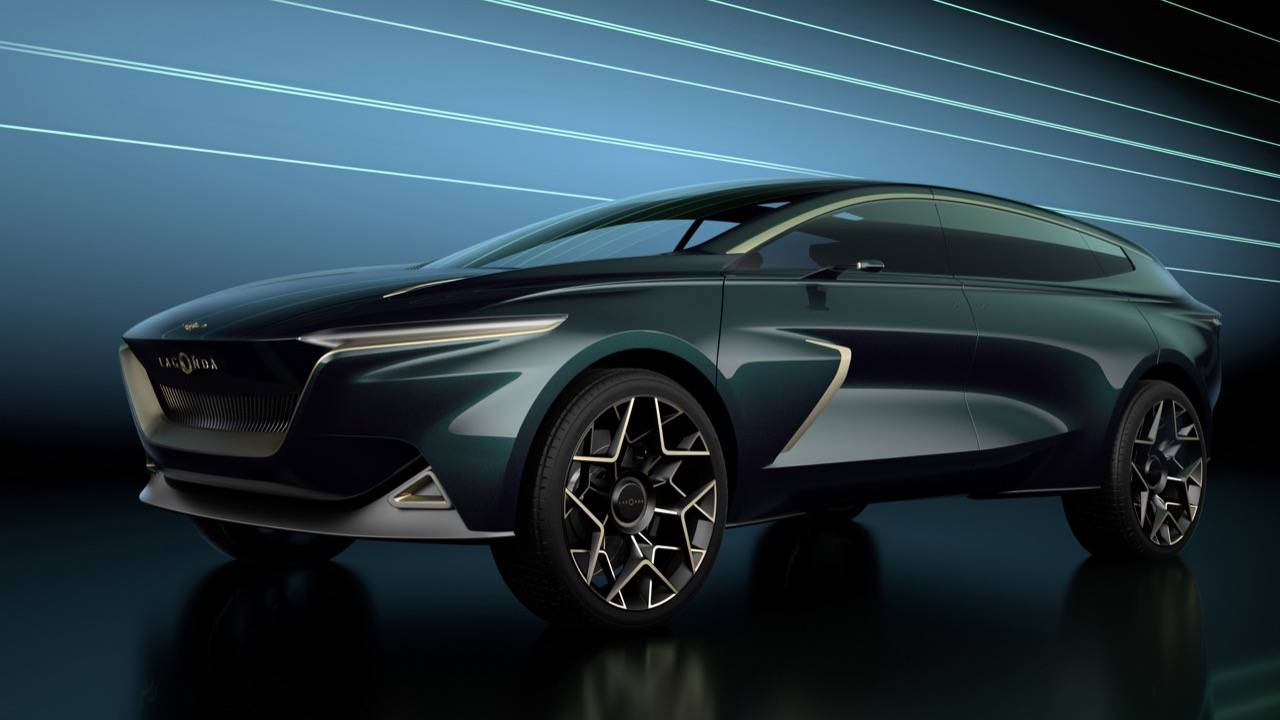 Lagonda All-Terrain Concept previews Aston Martin's luxe e-SUV