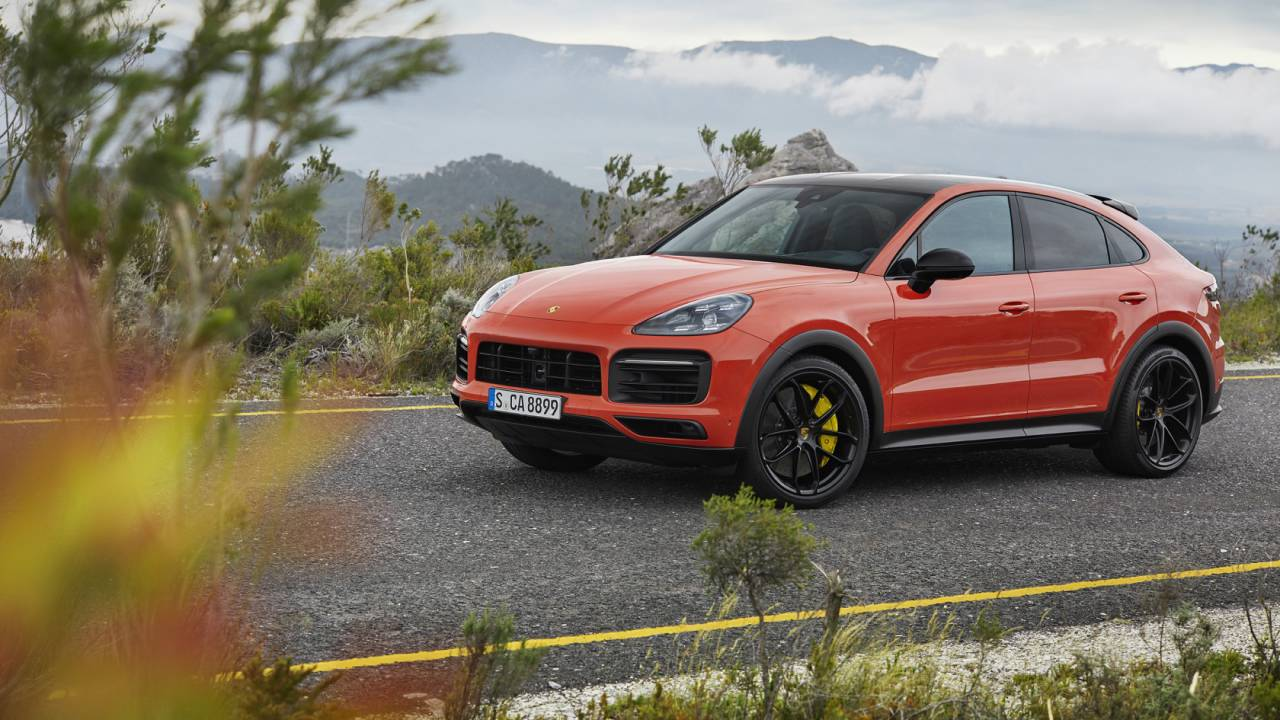 2020 Porsche Cayenne Coupe Gallery