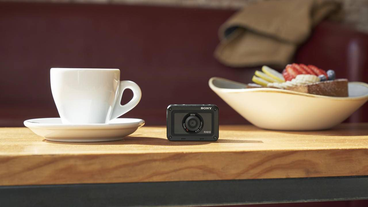 Sony RX0 II claims smallest 4K compact camera title