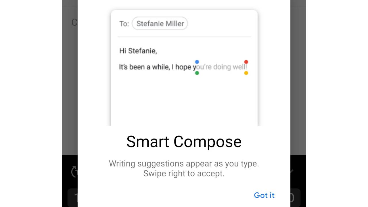 Gmail Smart Compose expands to all Android phones