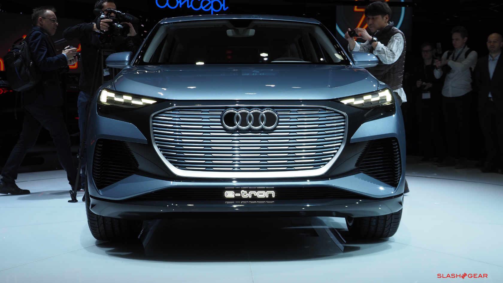 Audi Q4 E Tron Concept Teases More Affordable E Suv For 2021 Slashgear
