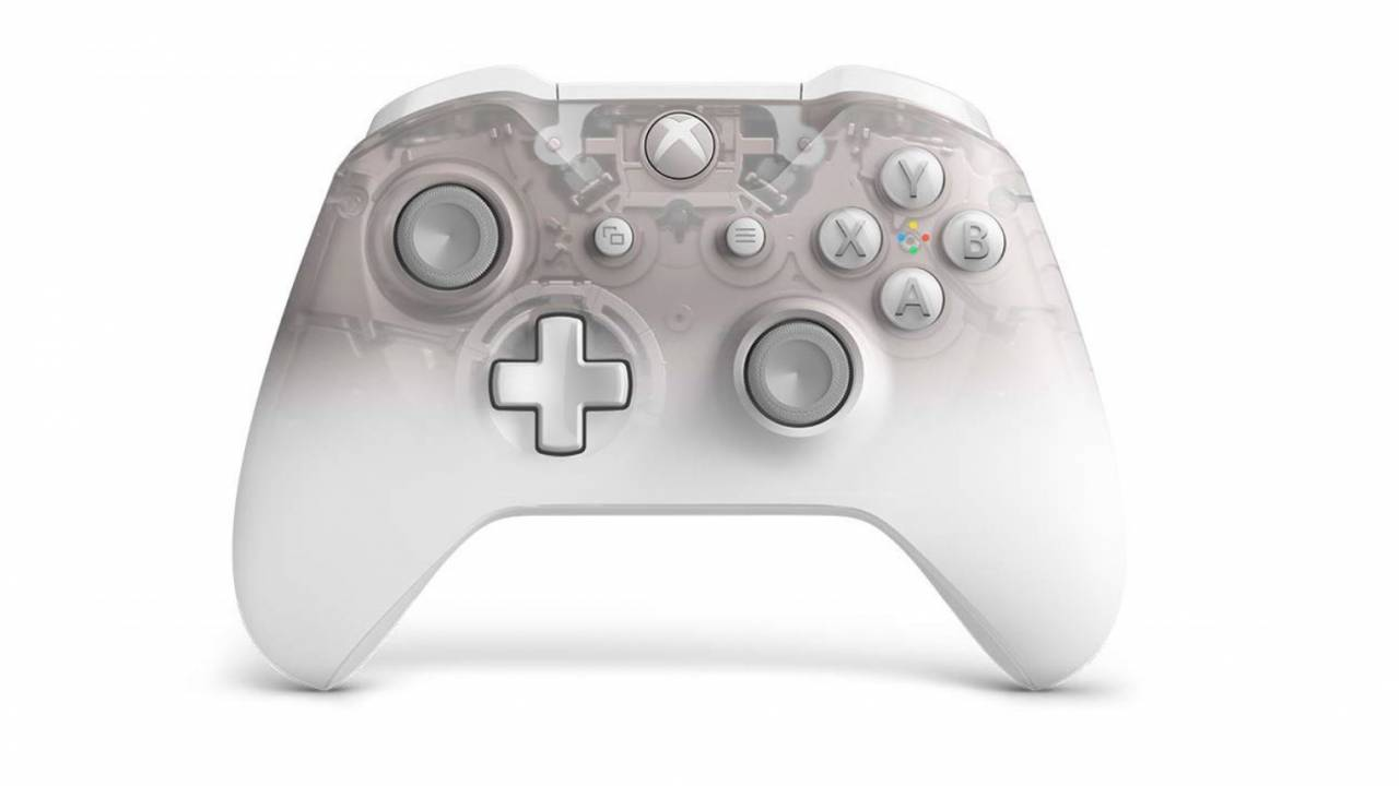 Xbox One Phantom White controller leaks out and looks great