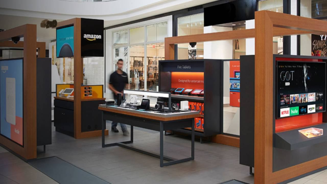 Amazon will close all US Pop-Up kiosks and focus on other stores