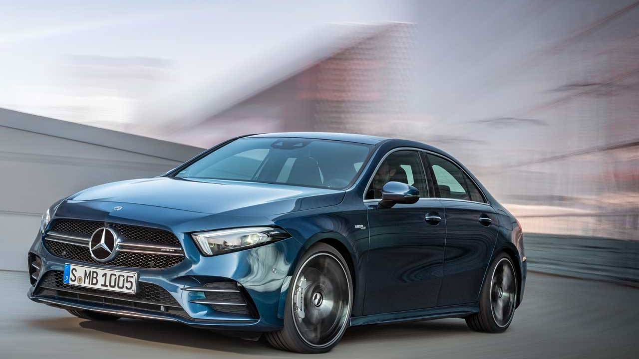 Mercedes-AMG A 35 4Matic Saloon is a hopped up family car