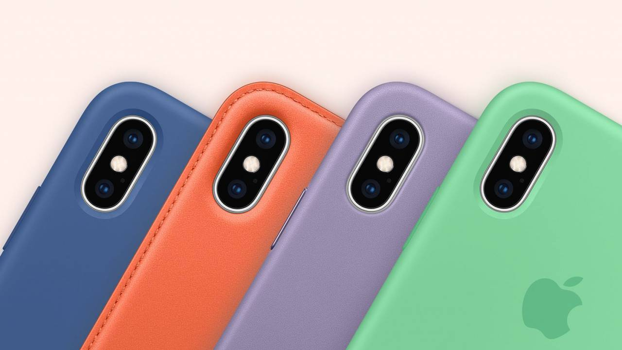 These are Apple's Spring 2019 iPhone cases and Apple Watch bands