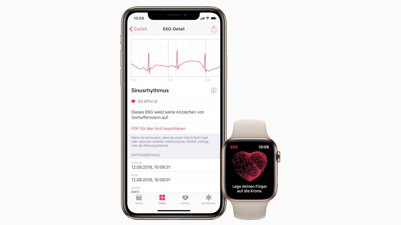 Apple Watch 4 ECG app now available in Europe and Hong Kong