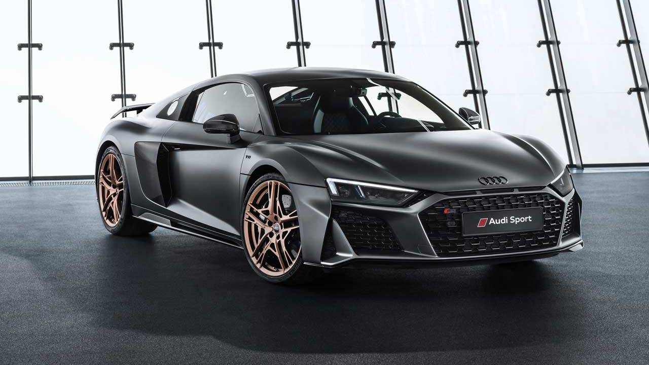 Audi R8 V10 Decennium celebrates ten years of V10 power