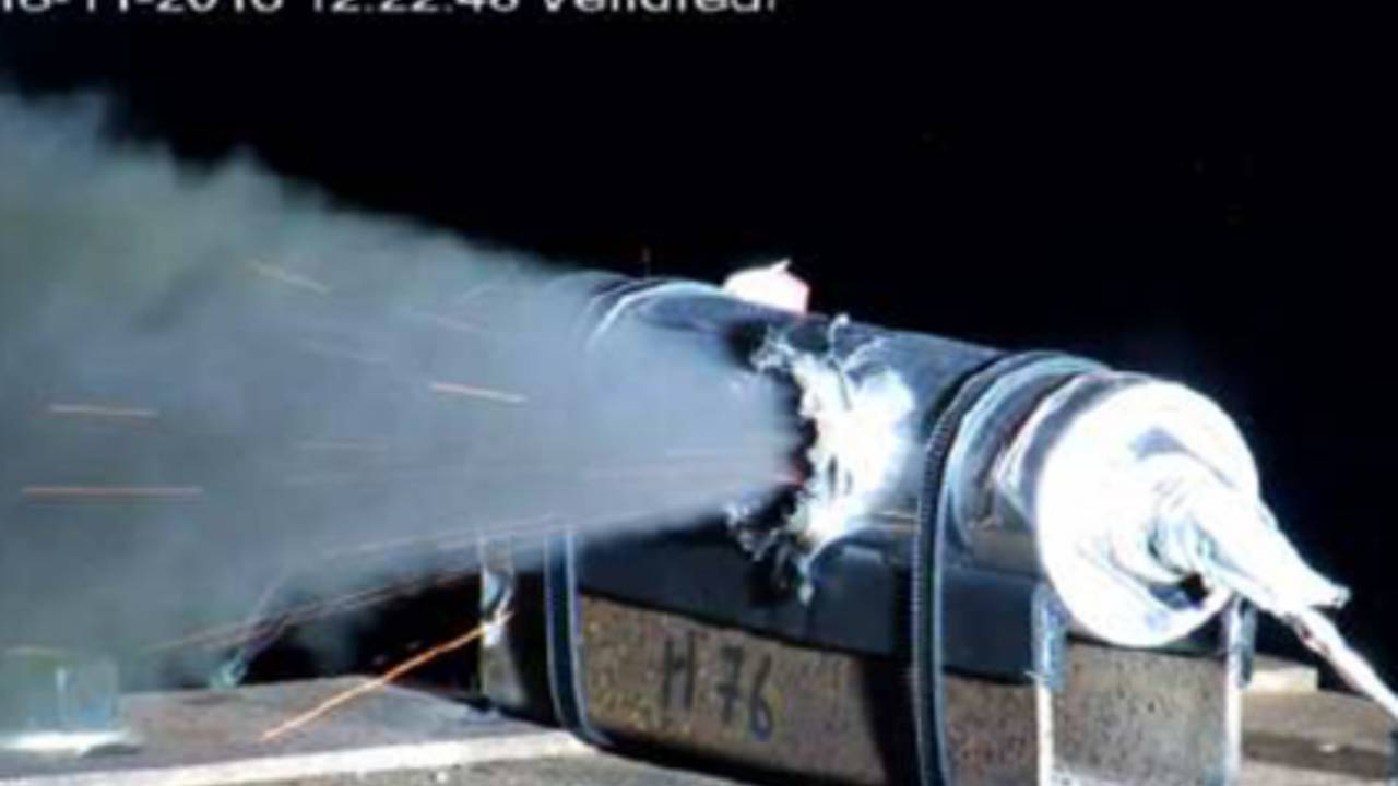 ESA shoots and blows up batteries in project to reduce space debris