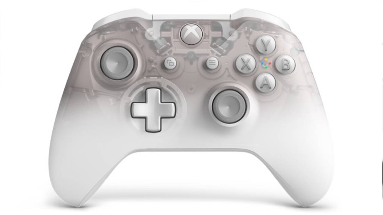 Xbox One Phantom White controller is official: Pre-order now