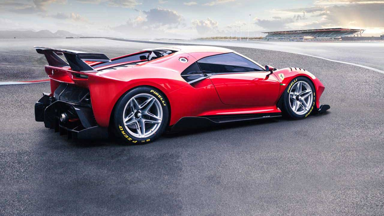 Ferrari P80/C is an extreme interpretation of the sports prototype