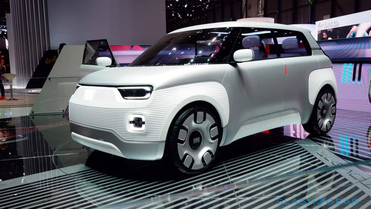 Fiat Concept Centoventi taps modularity to make an affordable EV