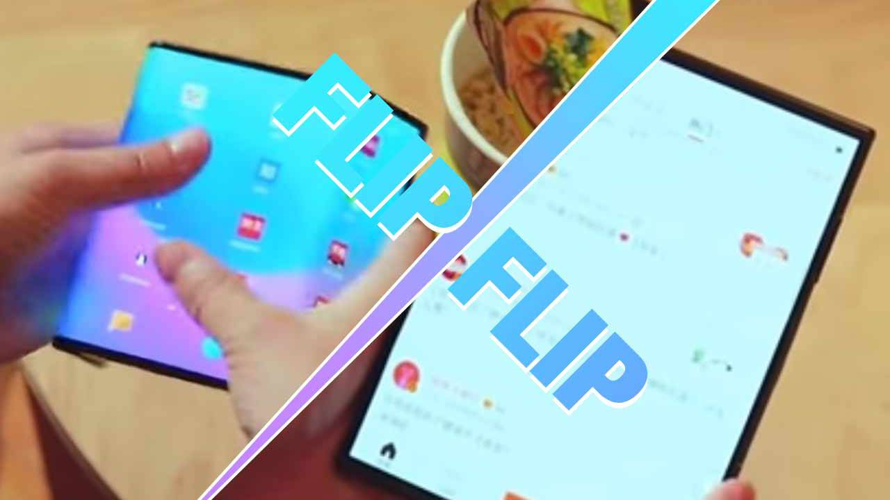 Cool demo: Watch Xiaomi's foldable phone fold over twice