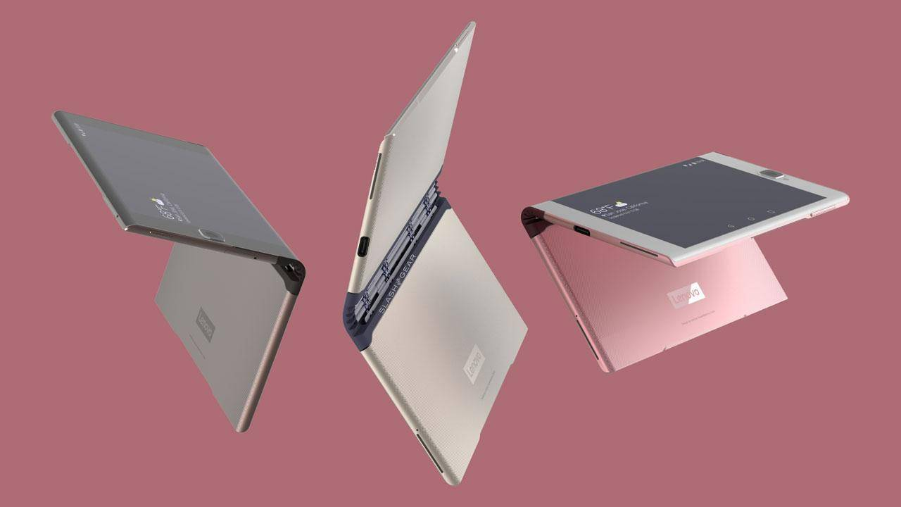 Lenovo foldable device could have a Surface Book hinge