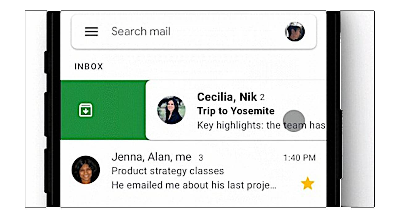 Gmail on iOS finally gets customizable swipe actions