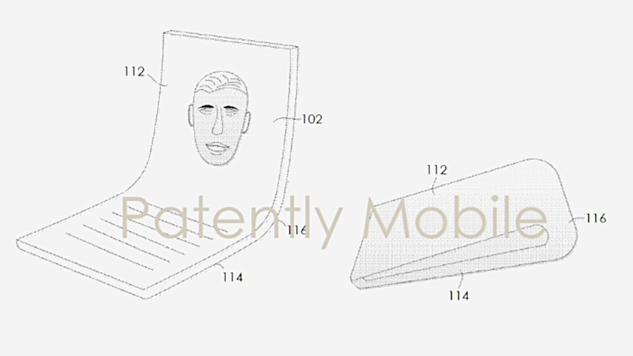 Google patent shows it might jump on the foldable phone train