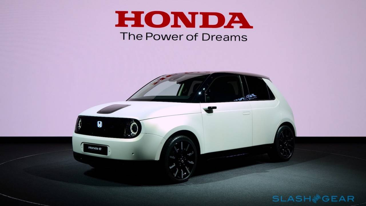 The Honda e Prototype is even cuter in person
