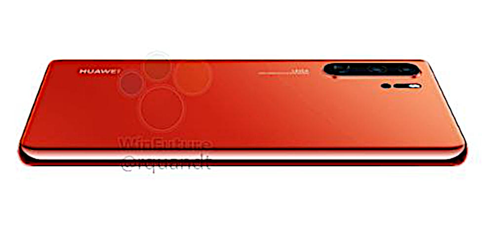 Huawei P30 Pro to include Sunrise color, IR blaster - SlashGear