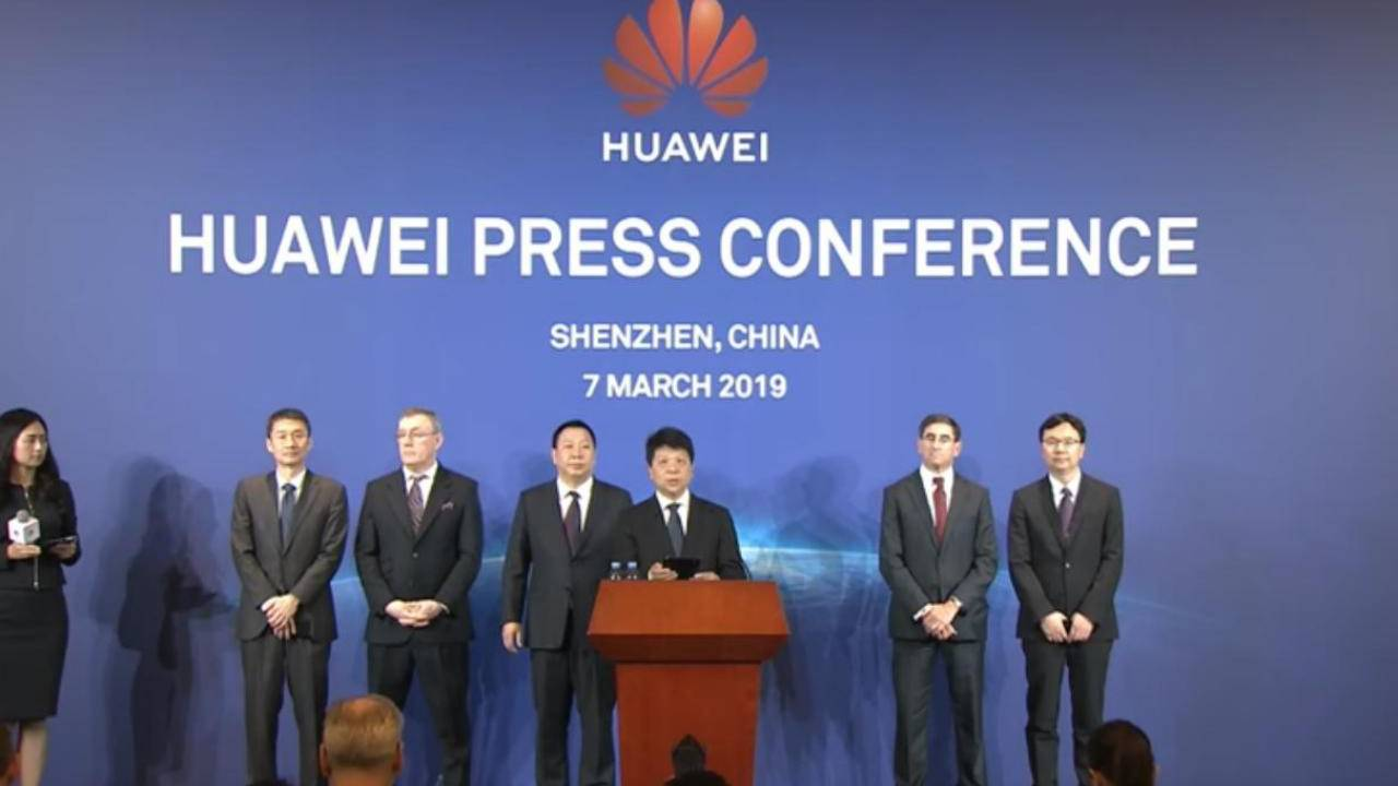 Huawei sues the US government over ban, says it's unconstitutional