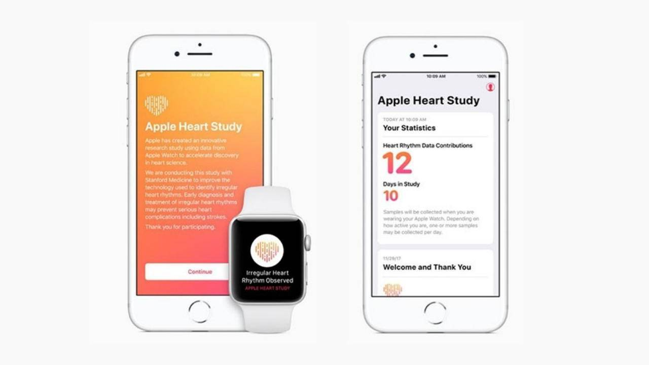 Apple Watch Stanford study show how it can save lives