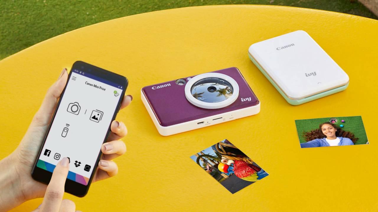 Canon IVY CLIQ instant camera printers focus on fun not fine art