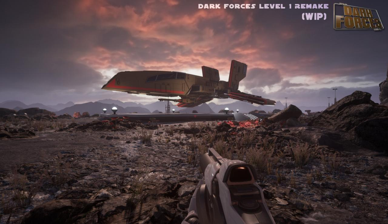 1995 Star Wars: Dark Forces unofficially recreated in Unreal