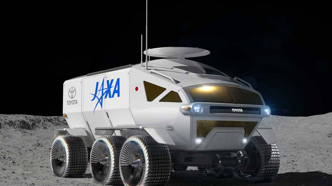 JAXA and Toyota team for a crewed pressurized moon rover