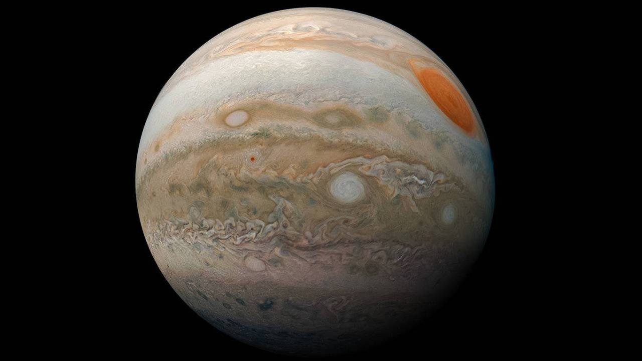 Jupiter looks like a giant marble in NASA's latest stunning image