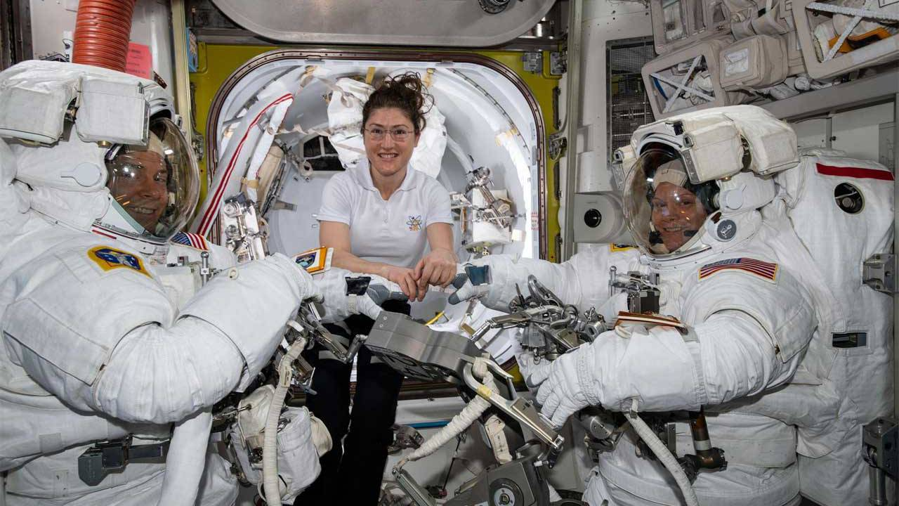 All-Female space walk canceled due to spacesuit availability