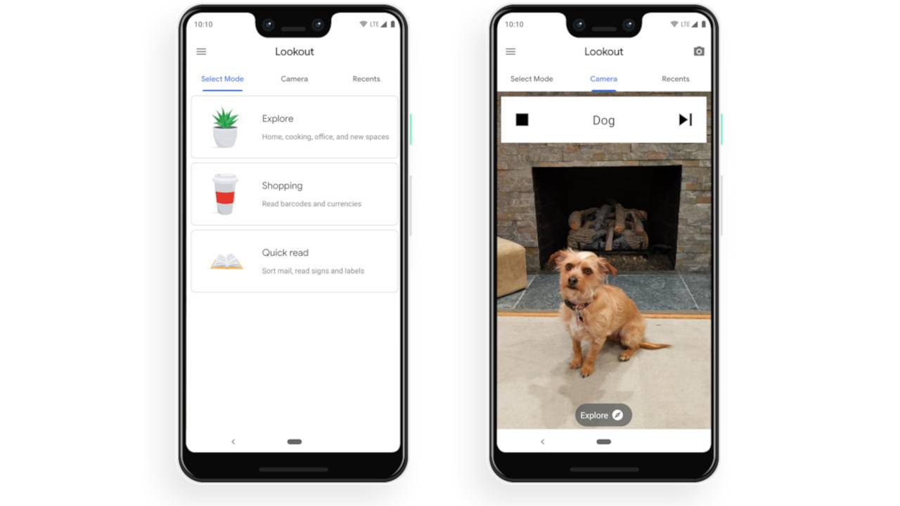 Lookout app now on Pixel phones to help the blind see with AI