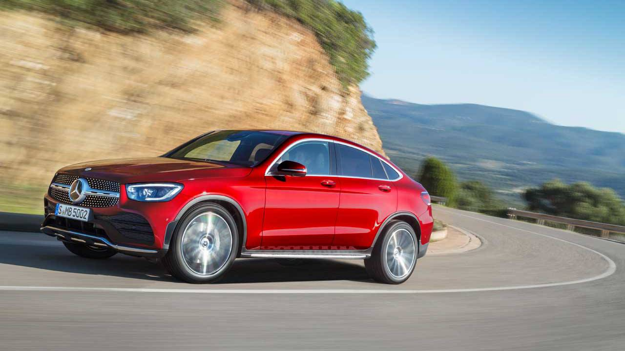 Mercedes-Benz GLC Coupe mixes coupe sportiness with SUV practicality