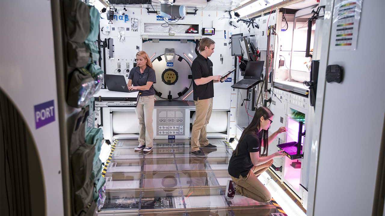 Lockheed Martin's finalized lunar habitat is one step closer to the moon