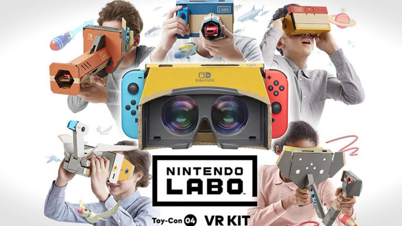 Nintendo Switch Labo VR Kit revives the Virtual Boy dream