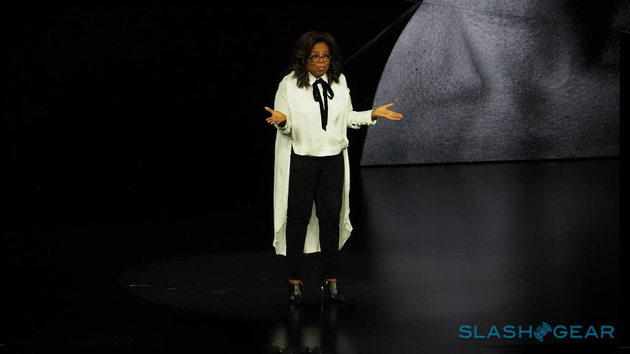 Why Oprah blessed Apple with her presence