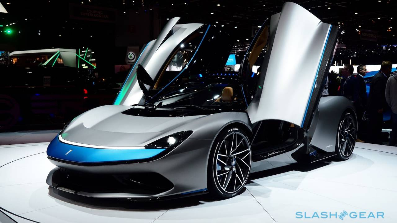 Pininfarina Battista 1,900hp electric hypercar is outrageous