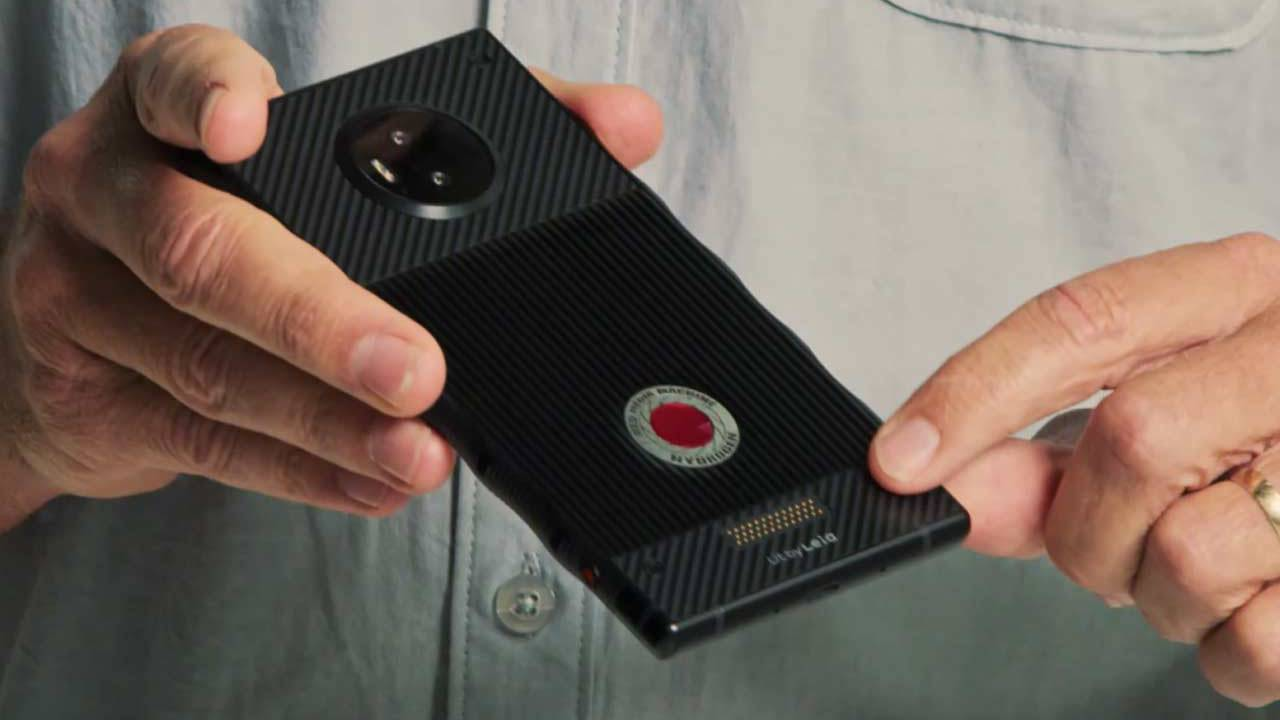 The RED Hydrogen ONE phone modules mystery begins