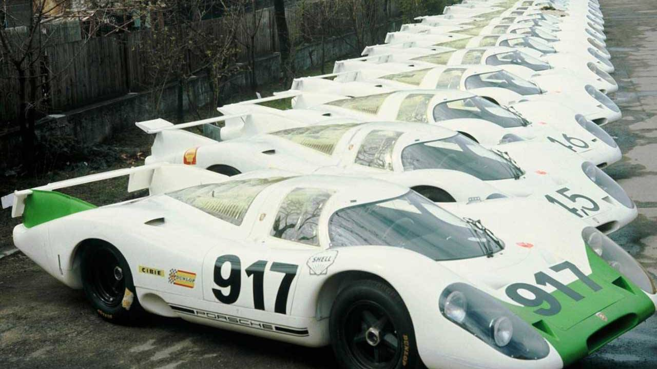 Iconic Porsche 917 racing car turns 50