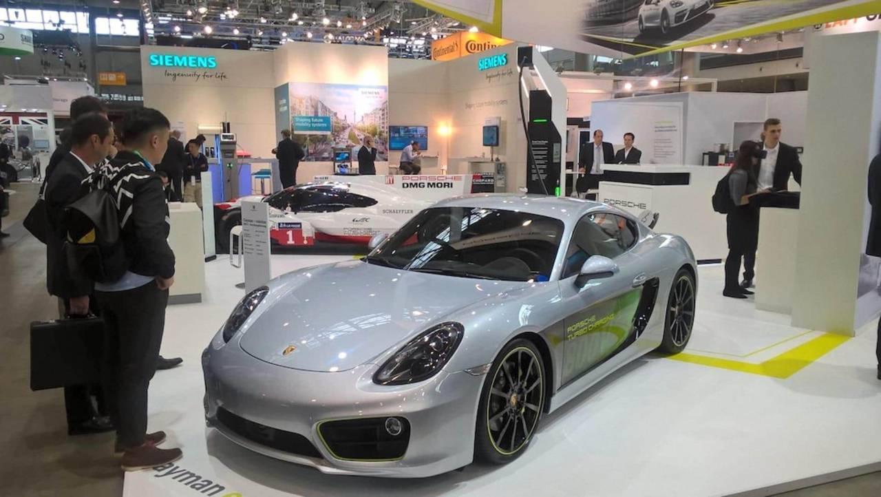Porsche 718 Hybrid Sees Another Ev Flavor Join Taycan Slashgear