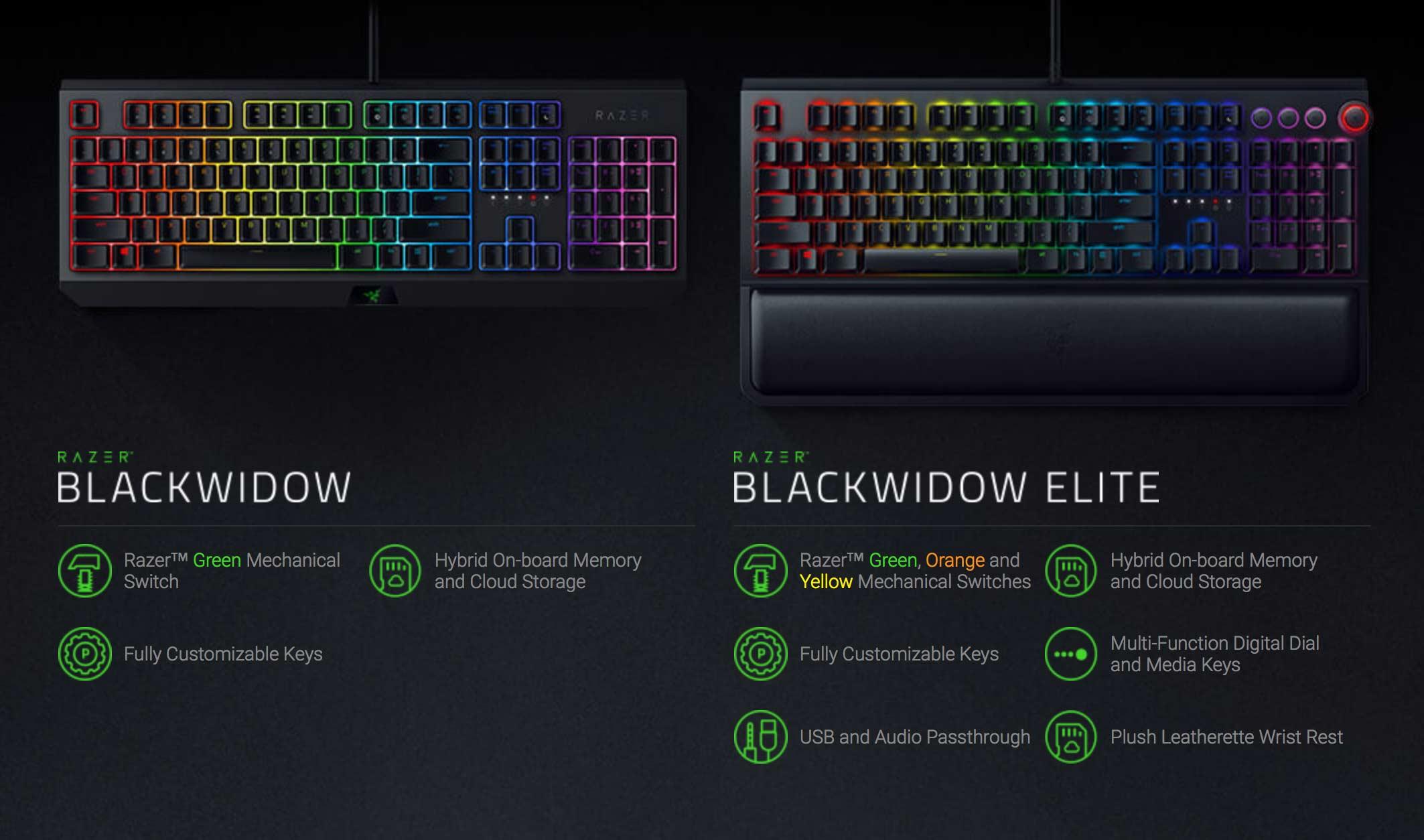Razer BlackWidow 2019 leads gaming peripheral price cut pack - SlashGear