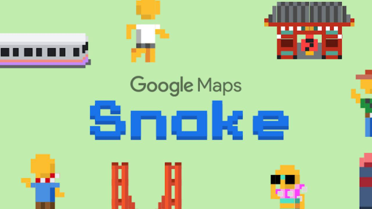 Google Maps Snake game puts a twists on ride-sharing