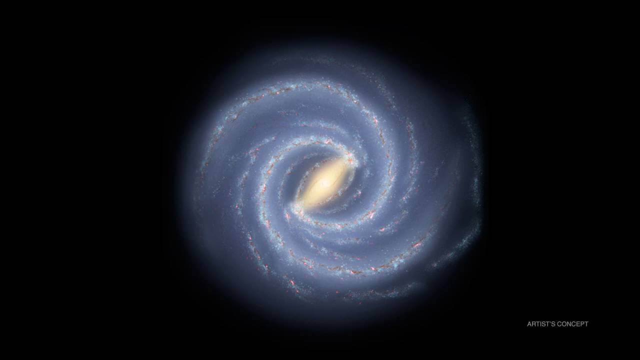 NASA says the Milky Way weighs 1.5 trillion solar masses