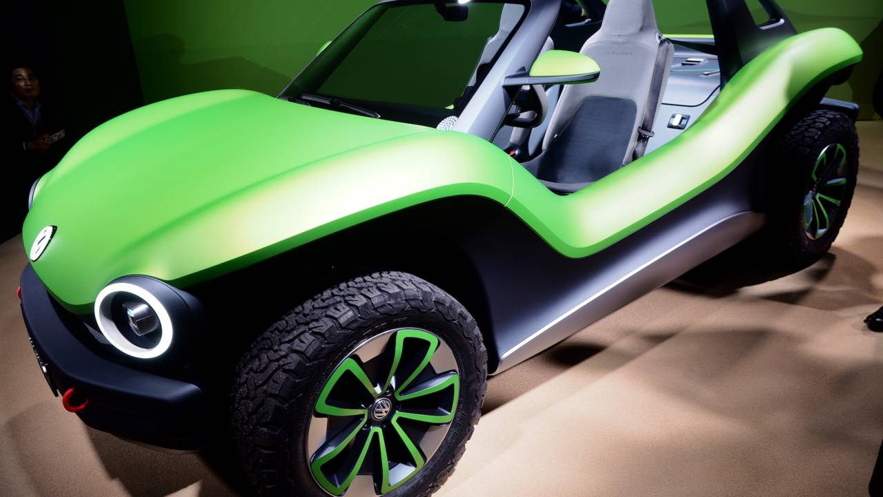 VW I.D. BUGGY is an all-electric dune buggy you have to love