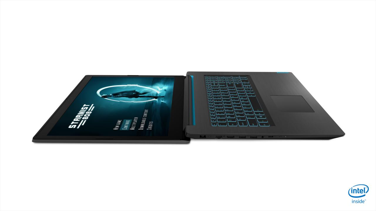 Lenovo IdeaPad L340 Gaming laptop is made for undercover
